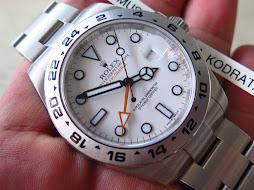 ROLEX EXPLORER II GMT 42mm - WHITE DIAL - POLAR - ROLEX 216570 - SERIAL RANDOM - MINT CONDITION