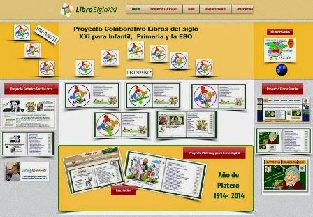 Proyecto C. I. Libros del siglo XXI para Infantil y Primaria