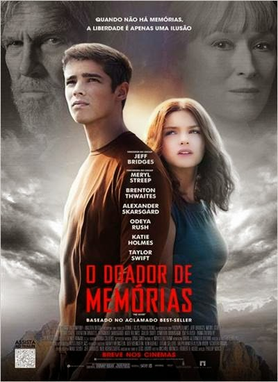 Download O Doador de Memorias AVI + RMVB Dublado HDRip Torrent