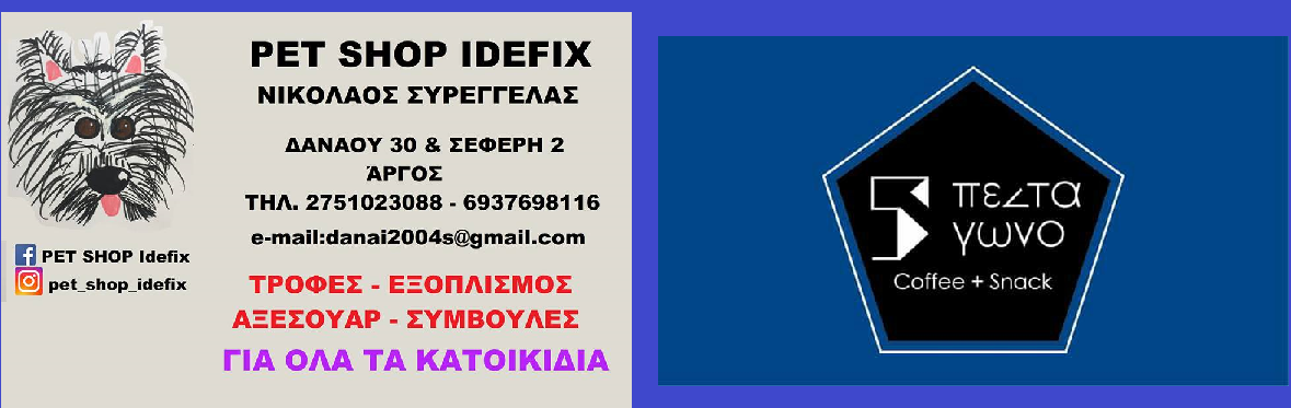 ΠΕΝΤΑΓΩΝΟ IDEFIX