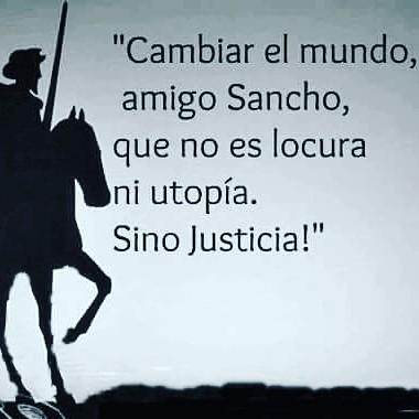 Frase de D. Quijote