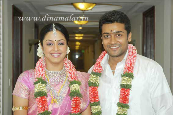 Surya & Jhothika Marriage 1