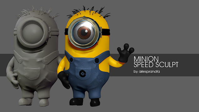 Minion Speed Sculpt - ariespranata