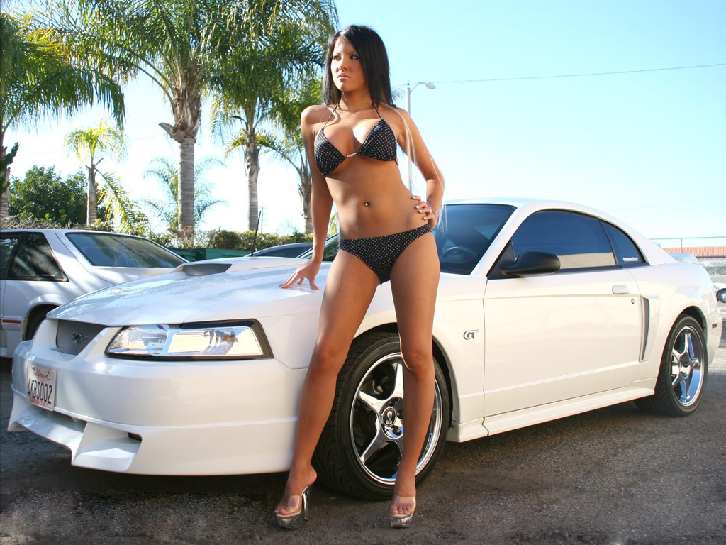 sexy girl with tuner