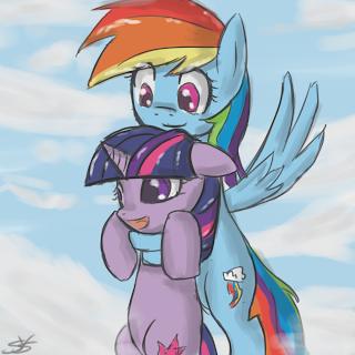 rainbow dash pinkie pie hentai