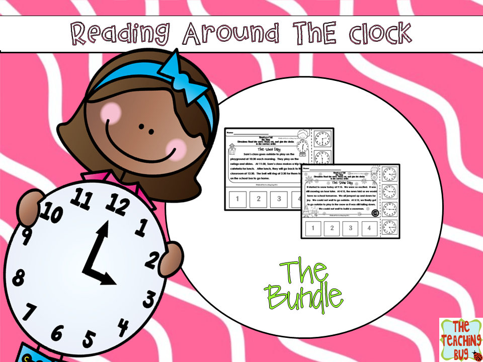 https://www.teacherspayteachers.com/Product/Telling-Time-Reading-Passages-Bundle-Hour-Half-Hour-Quarter-Till-Past-1734883