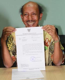 HM Basyir Ahmad Resmi Mengundurkan Diri Dari Jabatan Walikota Pekalongan