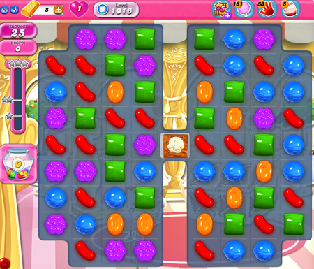 Candy Crush Saga 1016