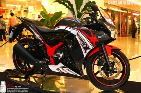 IndoGarage: All New Honda CBR 250R Modification in Thailand