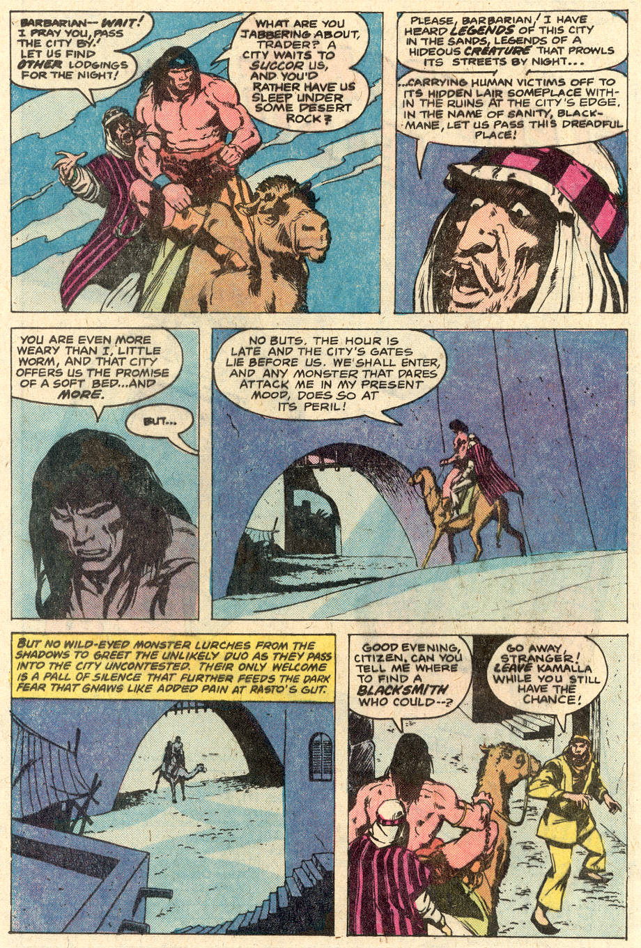 Conan the Barbarian (1970) Issue #116 #128 - English 11