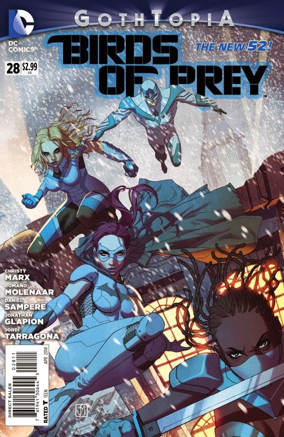 BIRDS OF PREY#28