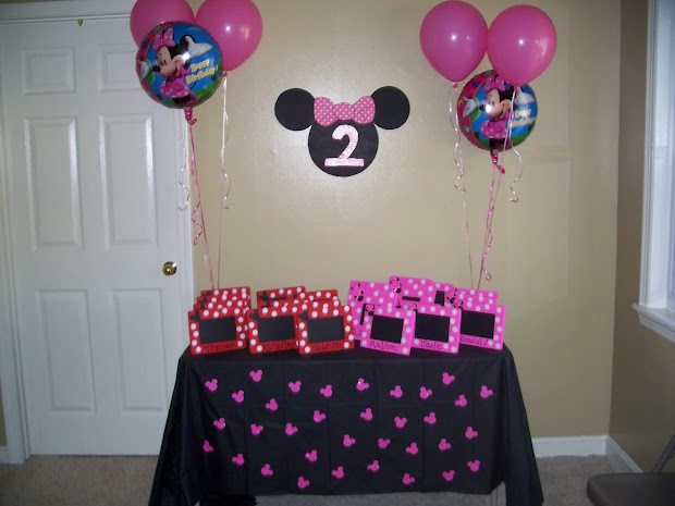 Minnie Mouse 2 Year Old Birthday Party Ideas For Girls