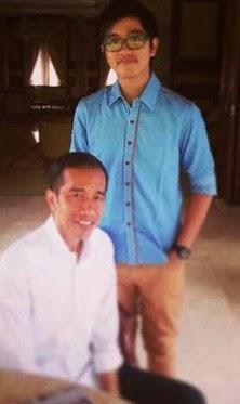 Putra Jokowi Kaesang Pangarep