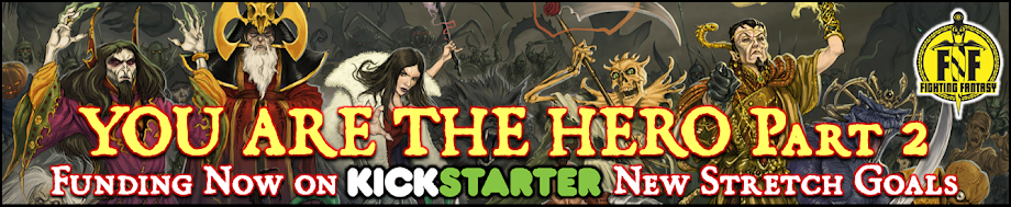 YOU ARE THE HERO Part 2 is now funding on Kickstarter