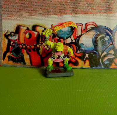 Orc, Heroquest, Painted, kid