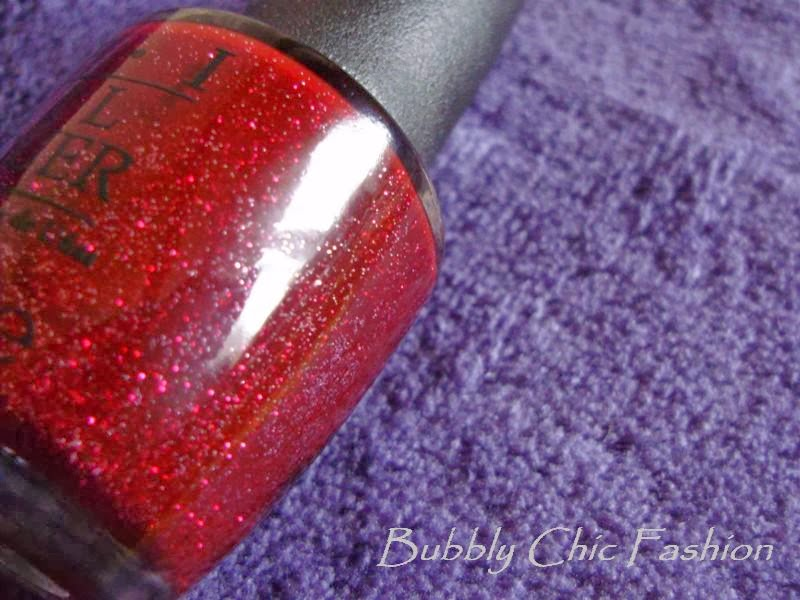opi mariah carey holiday underneath the mistletoe bubbly chic fashion