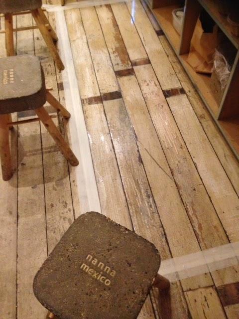 An unusual painted wood floor that need unusual care ~ Art of Clean ...