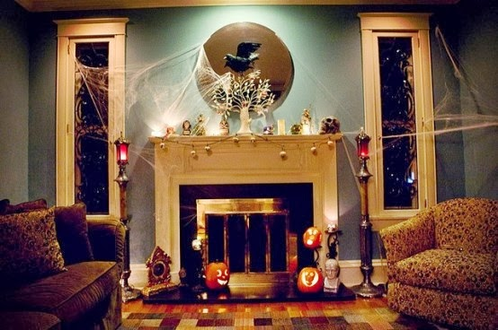 have you conjured up a few ideas - Halloween Home Decorating Ideas