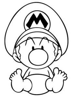 How To Draw Baby Mario How To Draw Mario