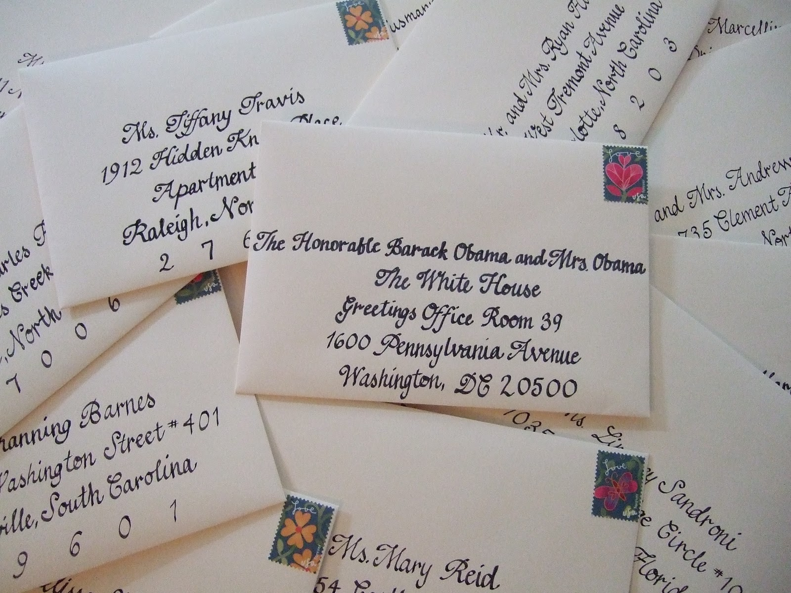 how to write out the times and dates on invitations