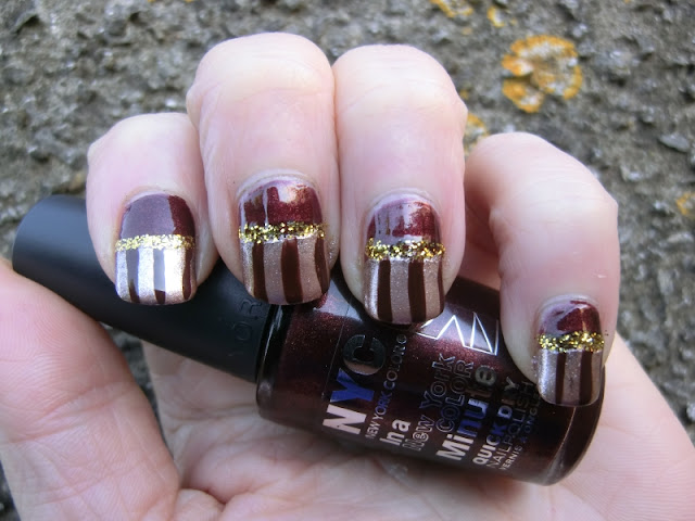 Black Forest Gateaux Nailart