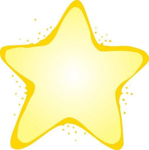 Estrellas de colores para imprimir - Imagenes y dibujos para imprimir