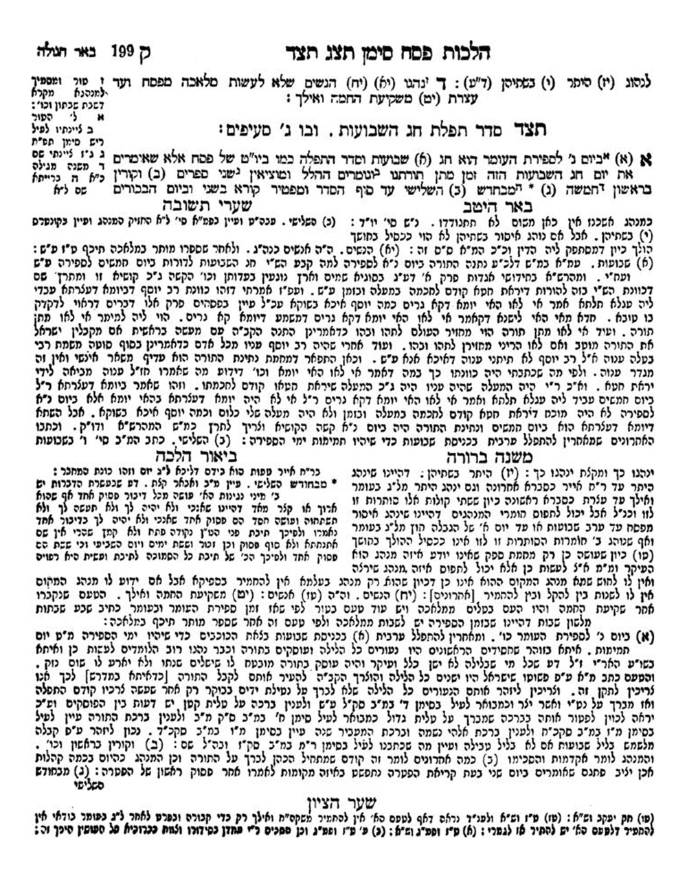 the seforim blog plagiarism halakhic paradox and the malbim on here is another example of what has been alleged to be plagiarism 13 it is a passage from the beur halakhah 494 s v 150214891495149314911513 149215131500149715131497
