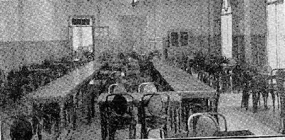Sala de juego del Ajedrez Condal Club, en el Café Olimpia en 1935