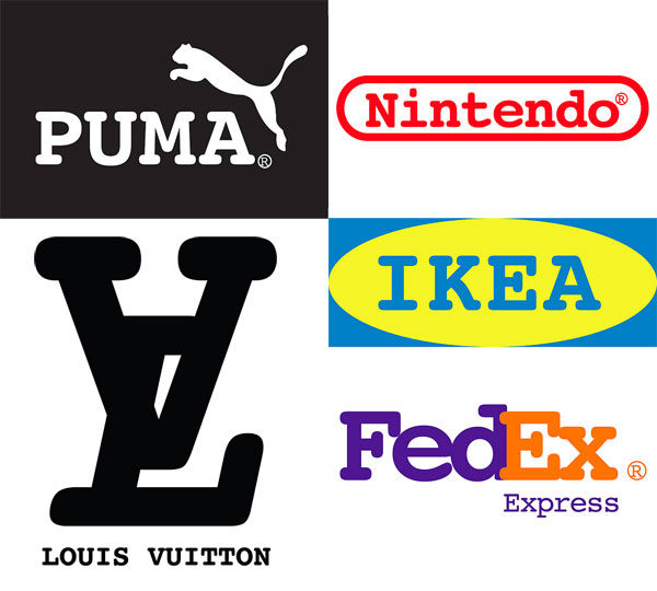 American courier company dog logo quiz