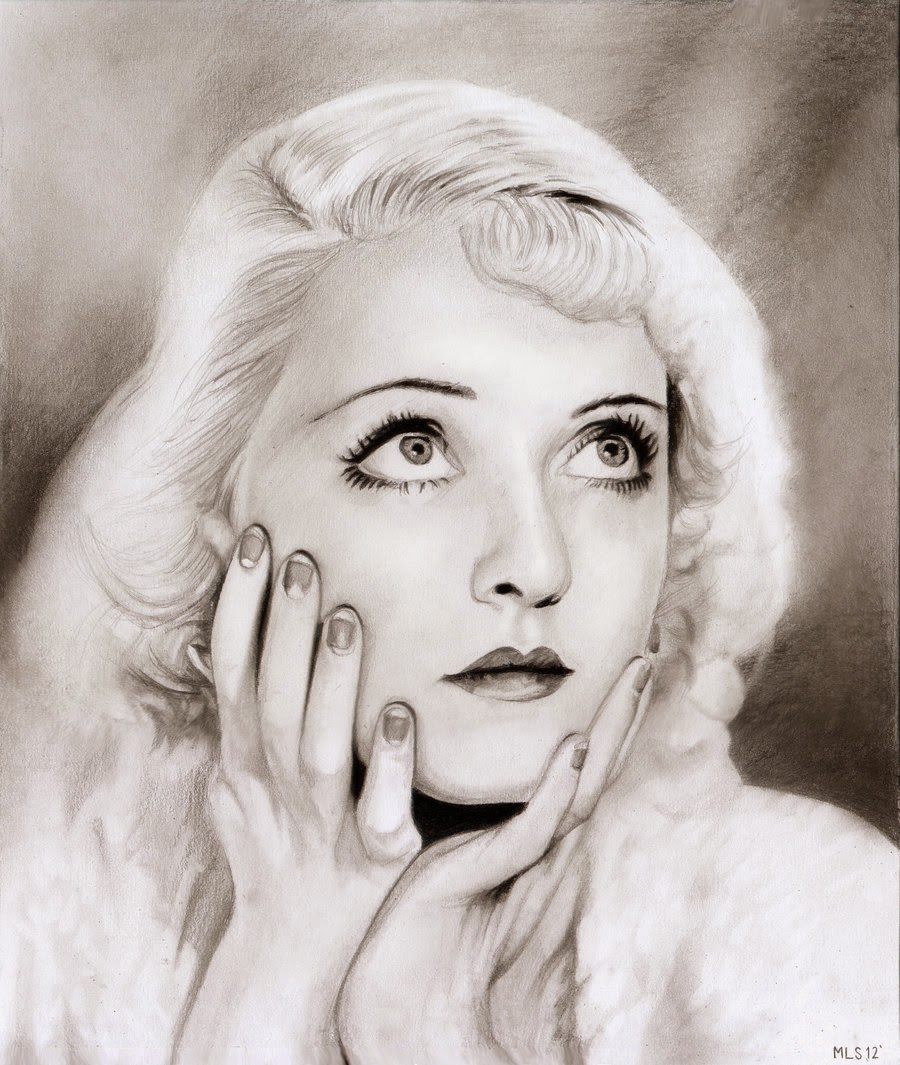 14-Bette-Davis-Martin-Lynch-Smith-MLS-art-Celebrity-Drawings-www-designstack-co