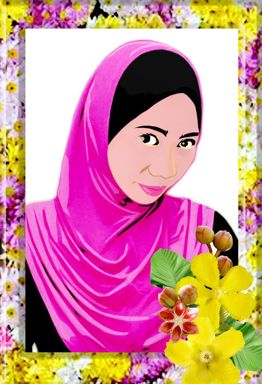 Bingkai Gambar Bunga