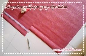 7 langkah mudah memasang wallpaper sendiri
