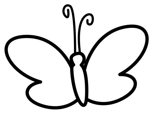 Dibujos De Mariposa Para Colorear. Finest Dibujo De Mariposa Para ...