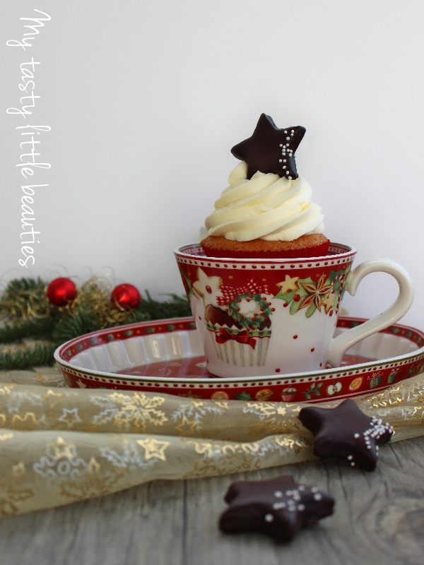 Vanille-Orangen-Cupcakes