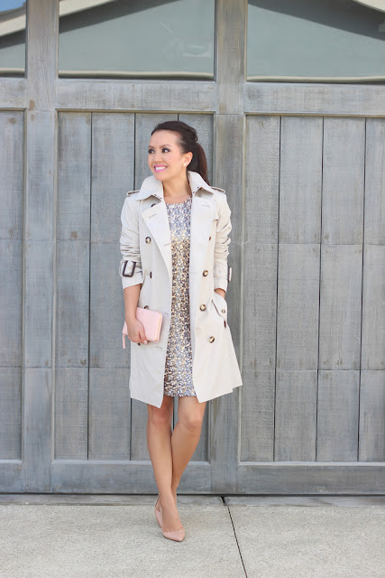 What to wear for New Year's Eve, sequin dress, how to style a sequin dress