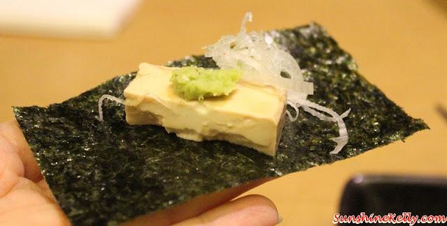 Tokushima Ramen, Ippudo Malaysia, Marinated Cream Cheese with Crispy Seaweed, Jumbo Ebi Tempura, IPPUDO Ocean Roll, Ippudo Ramen, Ippudo, Bangsar Shopping Centre