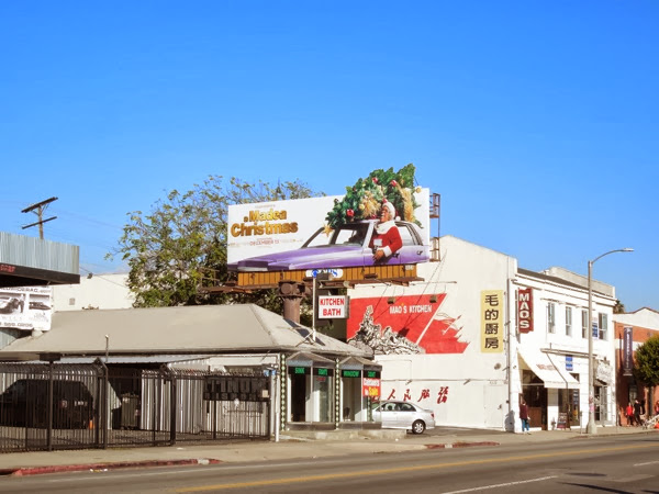 A Madea Christmas billboard