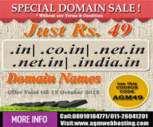 Get Domains Just Rs.49