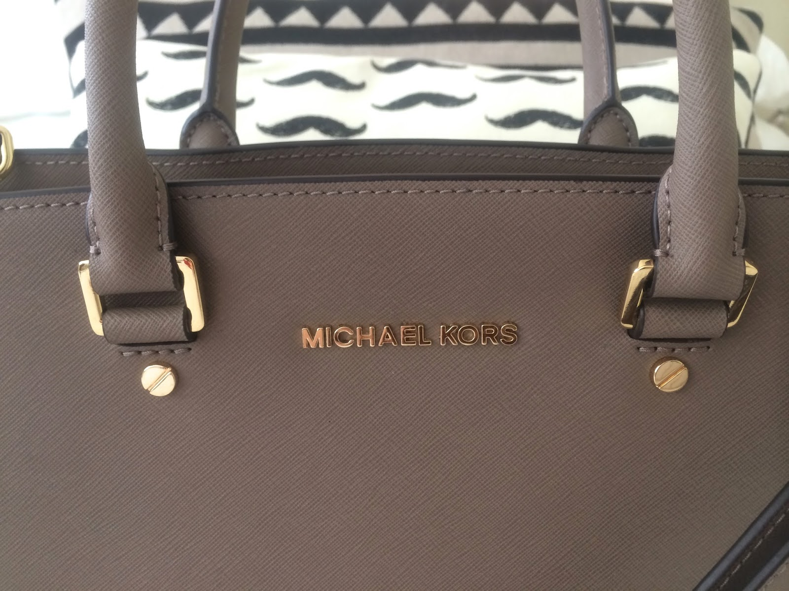 Taupe Michael Kors Bag