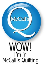 I am in McCall's Quilting!