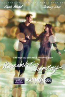 Vị nhớ tình yêu - Remember Sunday