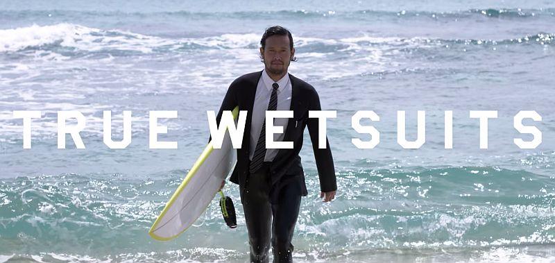 Gentlemen es wird gesurft - Die 'True Wetsuits' von Quicksilver