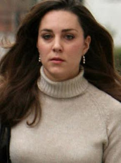 kate middleton without make up