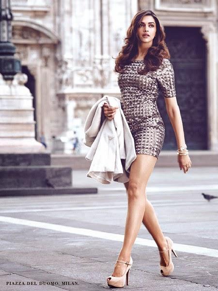 Deepika Padukone's Van Heusen Photoshoot