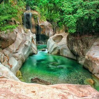 Tempat Objek Wisata Lubuk Nyarai Lubuk Alung Sumatera Barat (Sumbar)