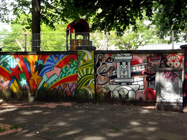 Hambourg Hamburg street urban art Sankt Georg