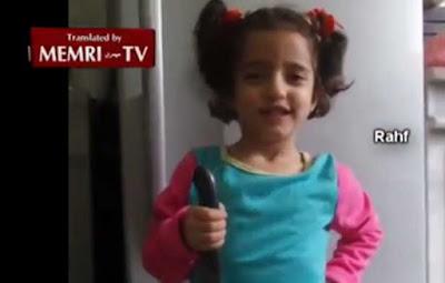 Impacta en la red niña palestina que quiere 'apuñalar judíos'