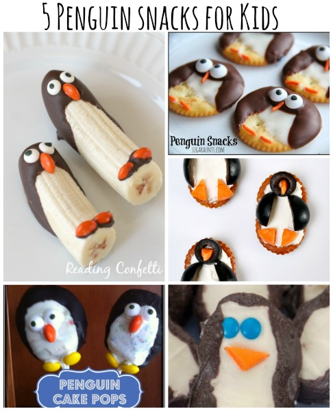 5 fun penguin snacks for kids