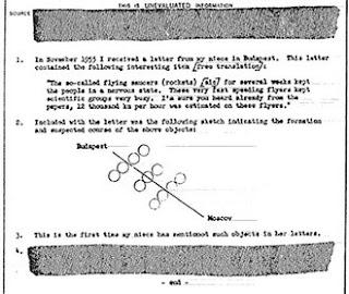 dokumen rahasia CIA tentang Alien