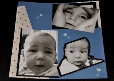 scrapbooking baby album